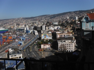 The city of Valparaiso