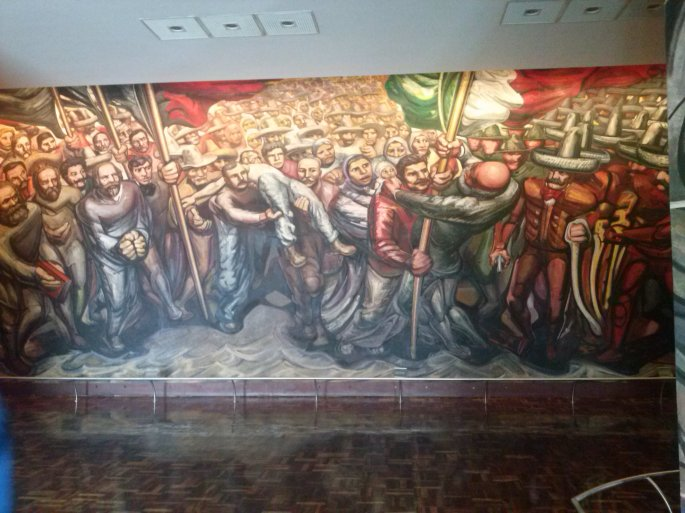 Mural of History Amongst Others