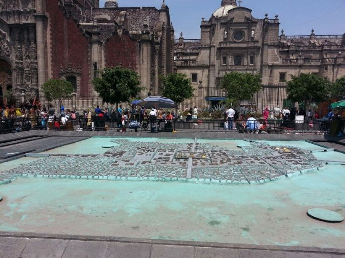 Historic Downtown Mexico City!