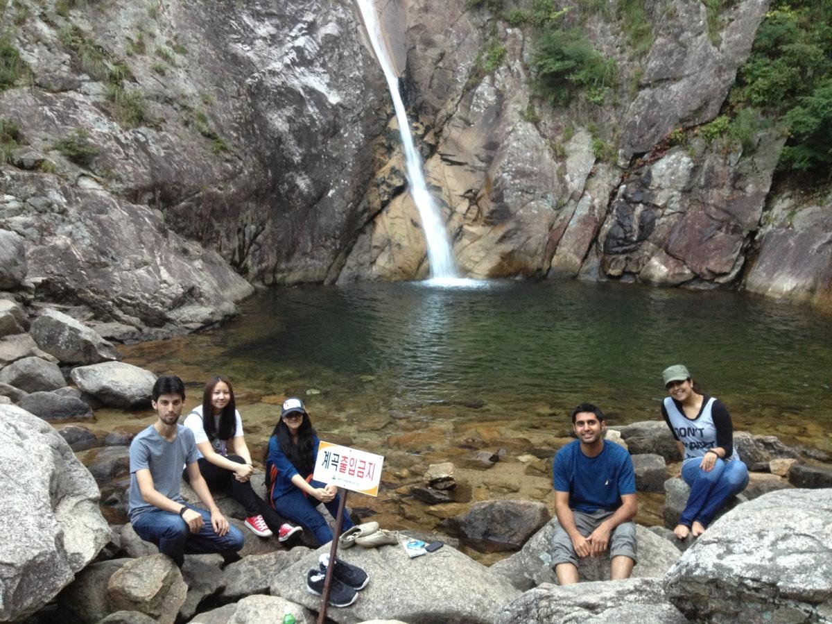 Biryong Falls, Seorakson National Park, South Korea