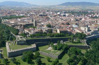 Pamplona, Spain at the Citadel