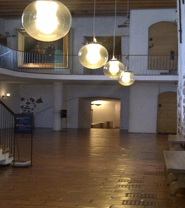 Inside Turku Castle, Finland