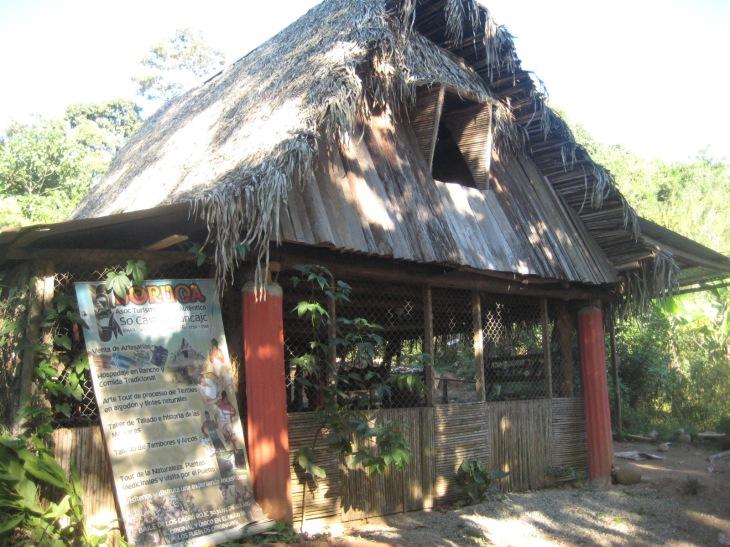 A traditional Boruca rancho