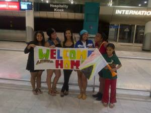 airport welcome