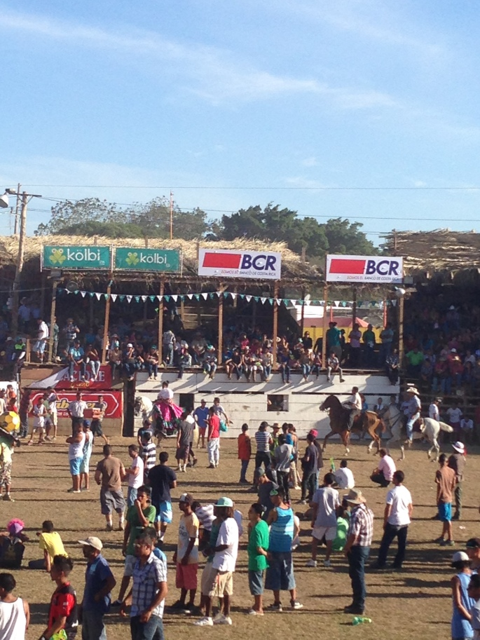 Rodeo in Liberia Feb,2014