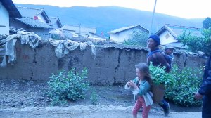 Hardworking women and children of Butuo