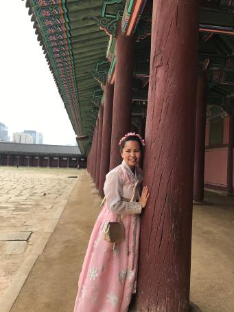 At Gyeongbok Palace