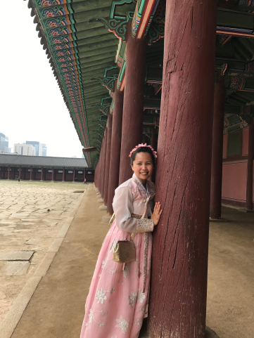 At Gyeongbok Palace