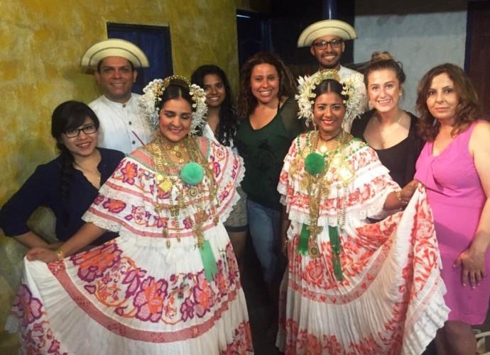 panama dancers