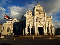 The Basílica de Nuestra Señora de los Ángeles. How Majestic!