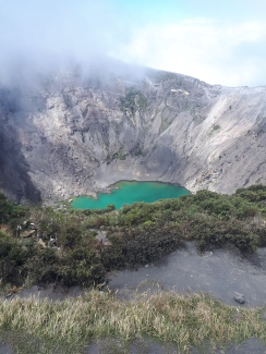 Most beautiful lagoon in the middle of the volcano